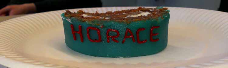 HORACE-cake