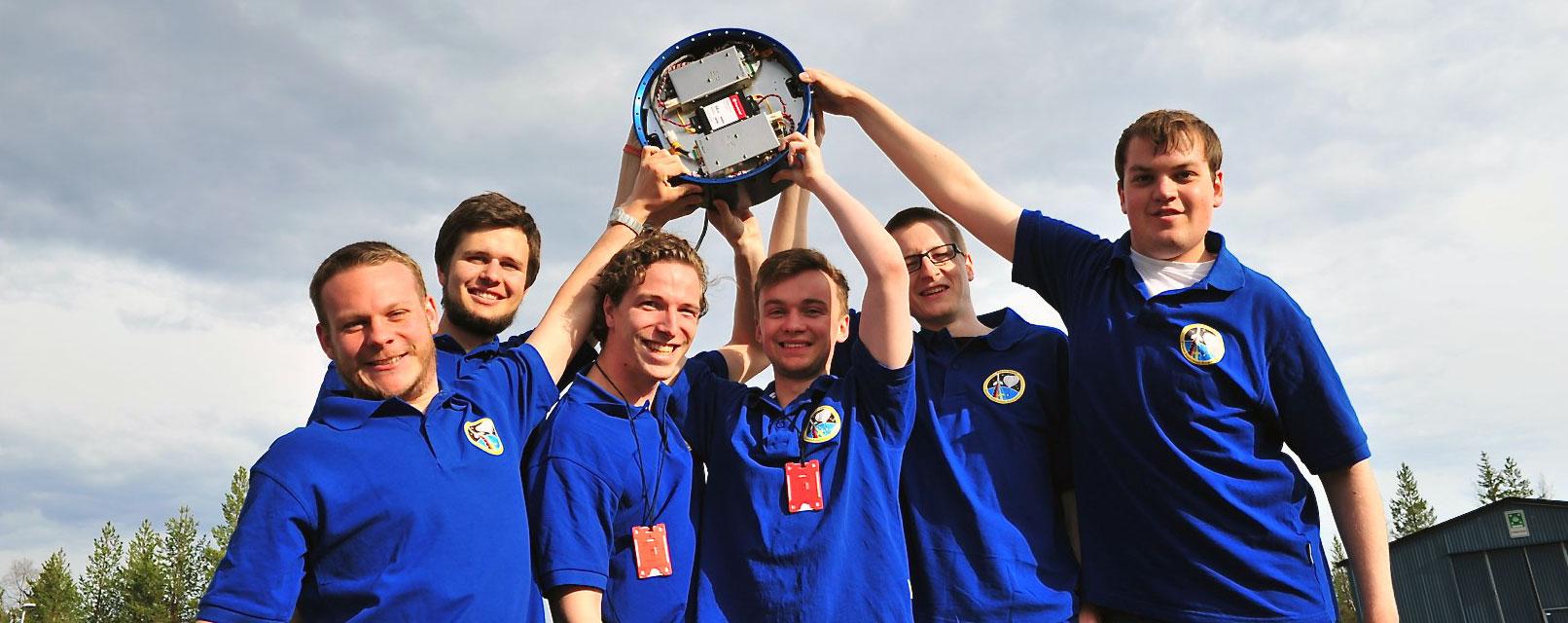 (left to right: Jochen Barf, Thomas Rapp, Sven Geiger, Arthur Scharf, Florian Wolz, Matthias Bergmann )